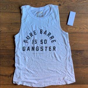 Brand New Spiritual Gangster x Pure Barre Tank Top